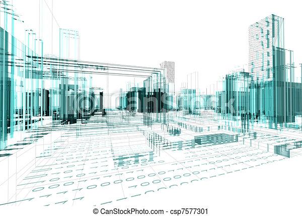 Abstrae la arquitectura - csp7577301