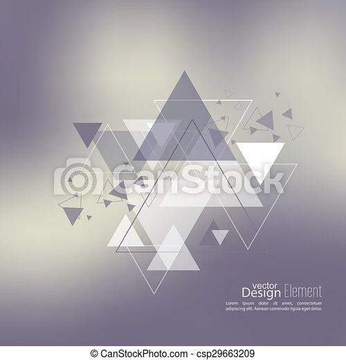 Trasfondo abstraído y borroso - csp29663209