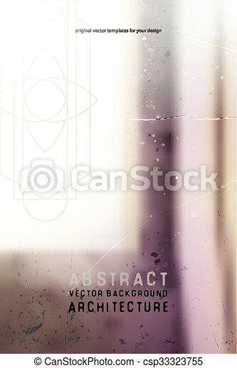 Trasfondo abstraído y borroso - csp33323755