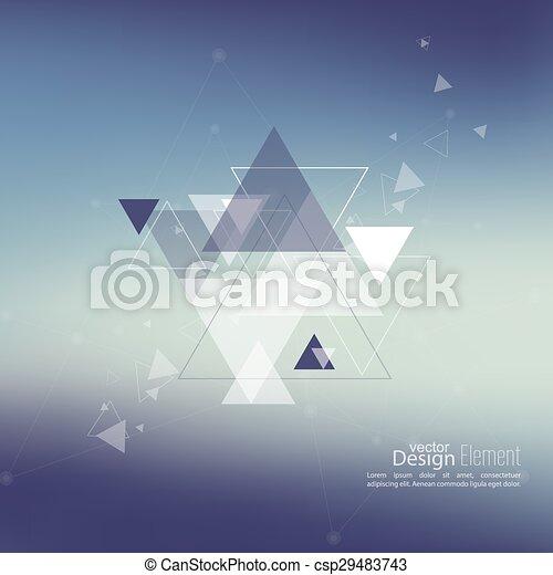 Trasfondo abstraído y borroso - csp29483743