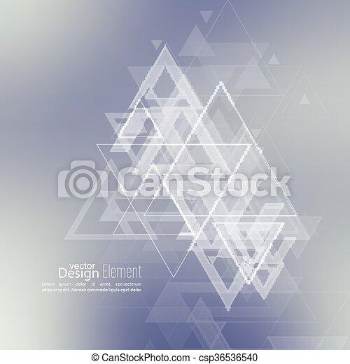Trasfondo abstraído y borroso - csp36536540