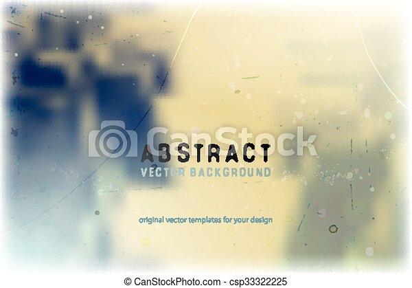 Trasfondo abstraído y borroso - csp33322225