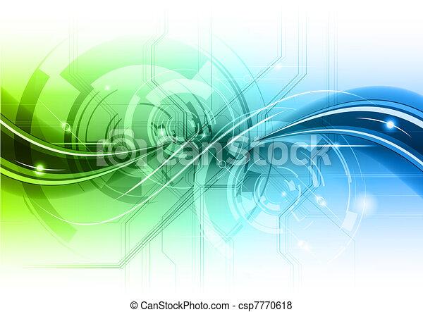 Trasfondo abstracto - csp7770618