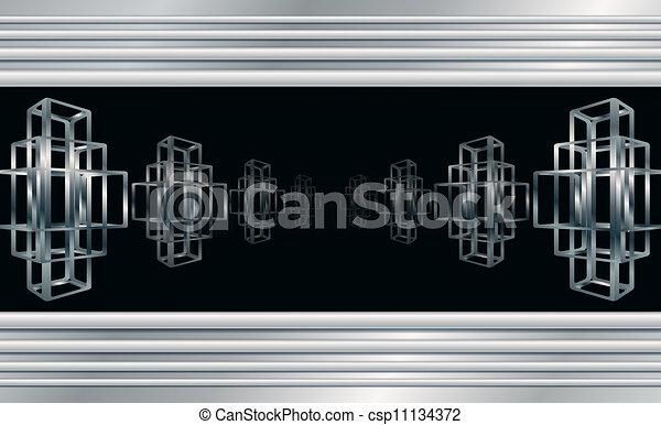 Temperatura abstracta - csp11134372