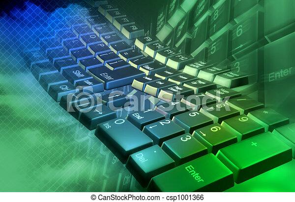 Abstrae el teclado - csp1001366