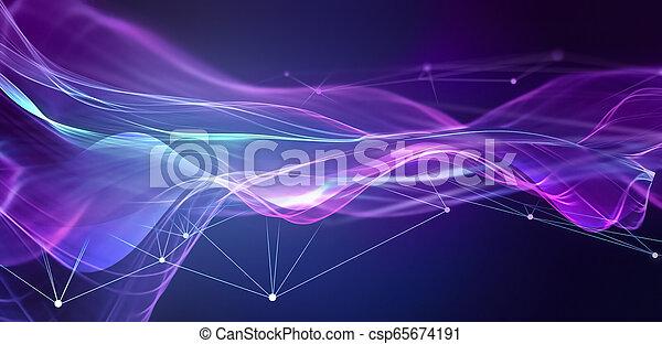Trasfondo de tecnología abstracto - csp65674191