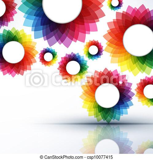 resumen, vector, ilustración, creativo - csp10077415