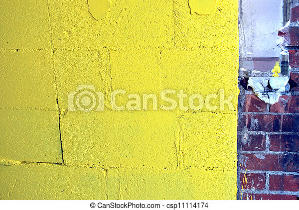 Muro abstracto. - csp11114174