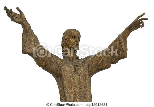 resurrección, jesús - csp12912581