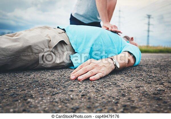 resuscitation, estrada - csp49479176