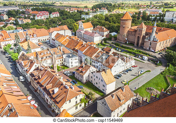 Reszel town - north part of Poland. - csp11549469