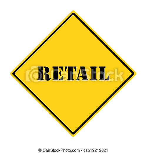 Retail Sign - csp19213821