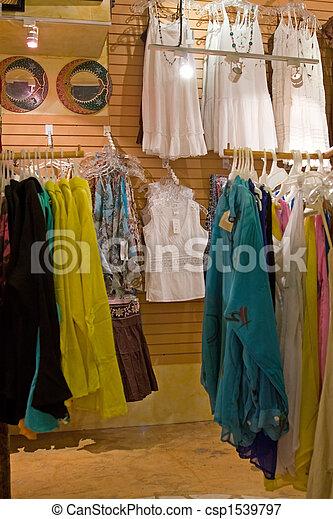 Retail Store Shopping - csp1539797
