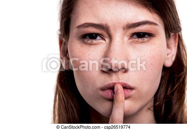 Silencio - csp26519774