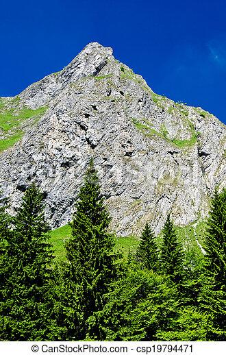 Retezat mountain, Romania - csp19794471