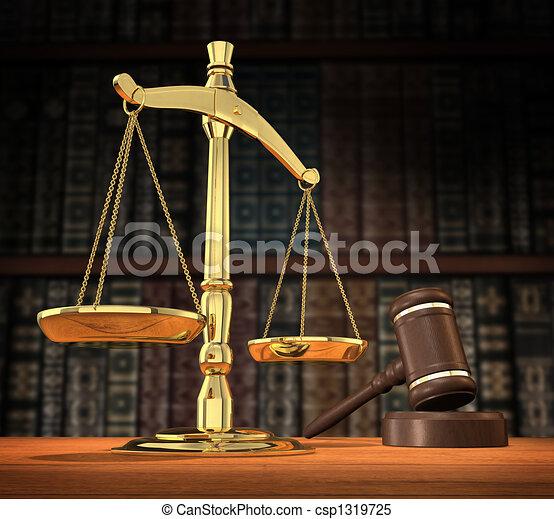 retfærdighed, betjent - csp1319725