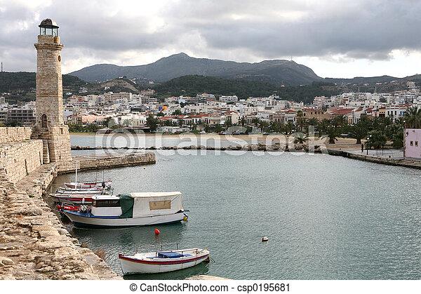 Rethymno town - csp0195681