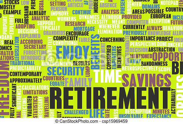 Retirement - csp15969459