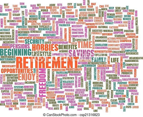 Retirement - csp21316823
