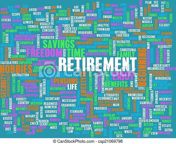 Retirement - csp21069798
