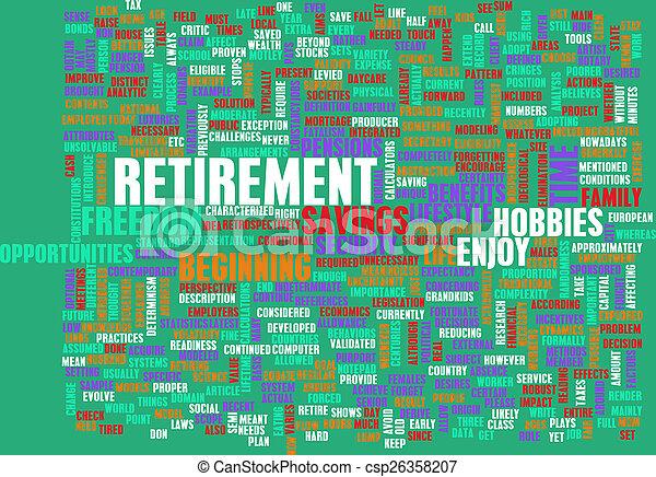 Retirement - csp26358207