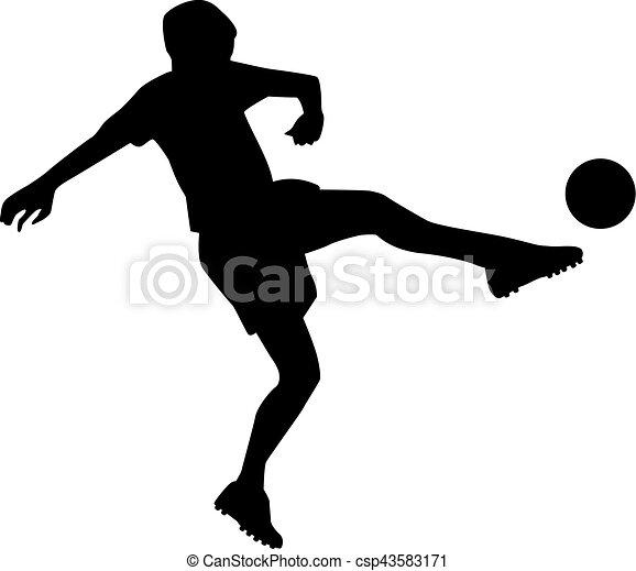 Jugador de fútbol - csp43583171