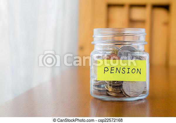 retraite, pension, revenu - csp22572168