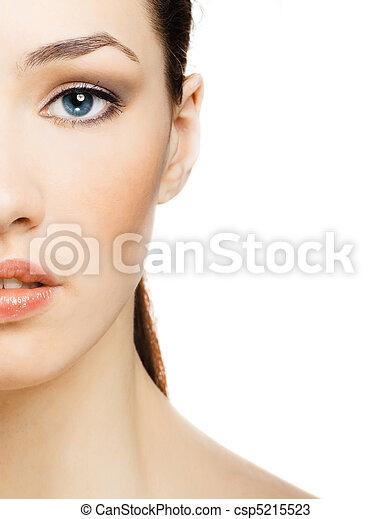 retrato, beleza - csp5215523
