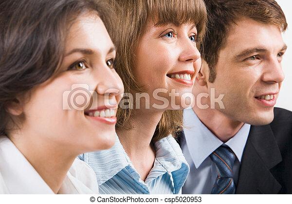 Retrato de gente de negocios - csp5020953