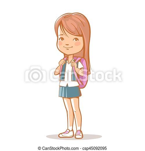 retrato  hermana falda  adolescente  daughter   escuela  marr u00f3n  isolated   bag   hermana clipart stickball clip art stocking