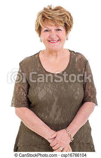 Retrato de ancianas - csp16766104