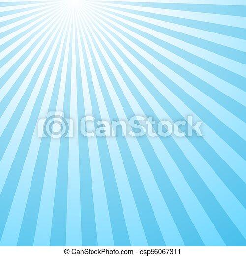 Retro abstract gradient sun burst pattern background - csp56067311