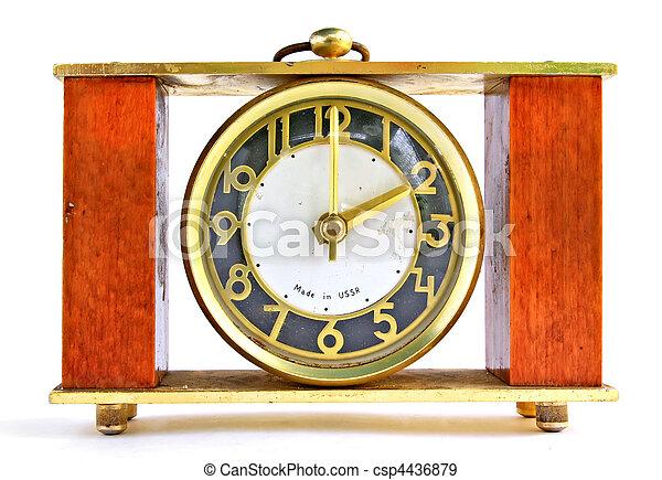 retro alarm clock - csp4436879