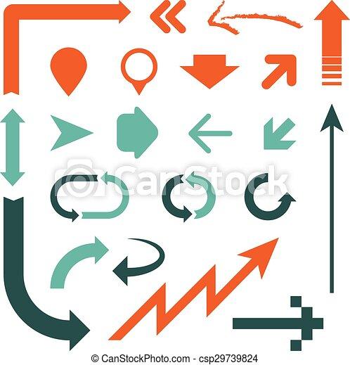 Arrow Designs Clip Art