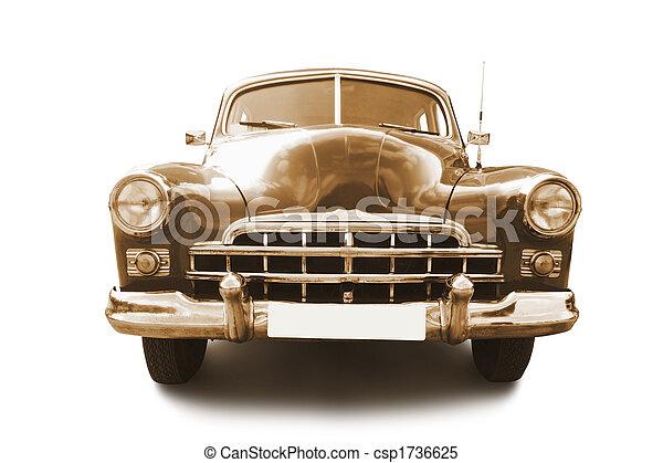 retro automobile - csp1736625