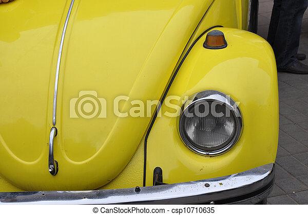 Retro automobile - csp10710635