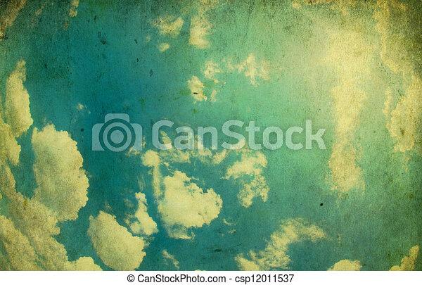 Retro Background - csp12011537