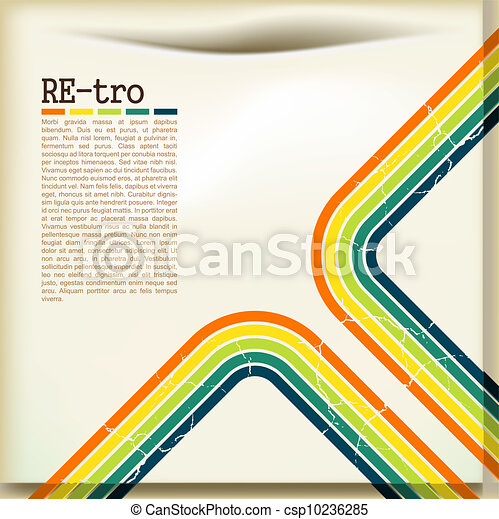 retro background - csp10236285