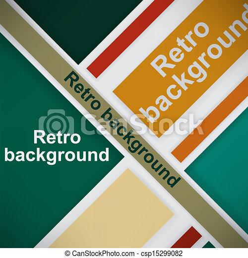 Retro background - csp15299082