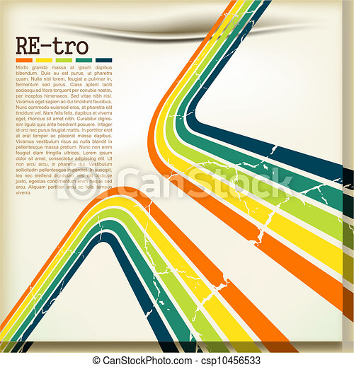 Retro background - csp10456533