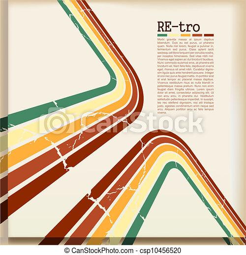 Retro background - csp10456520