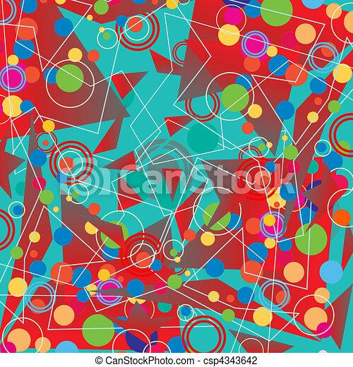 retro background - csp4343642