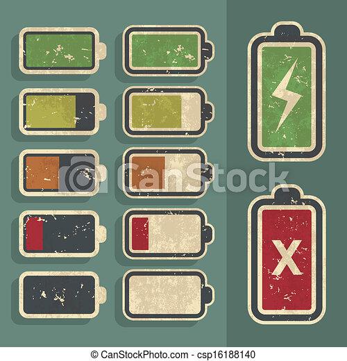 Retro Battery Level Indicator Kit - csp16188140