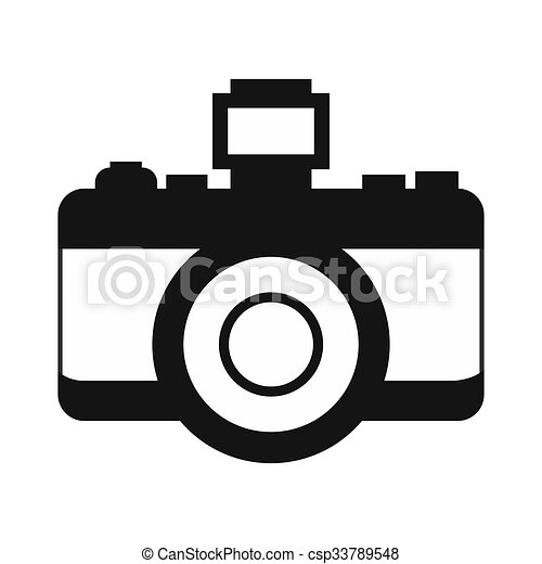 Retro Camera Simple Icon