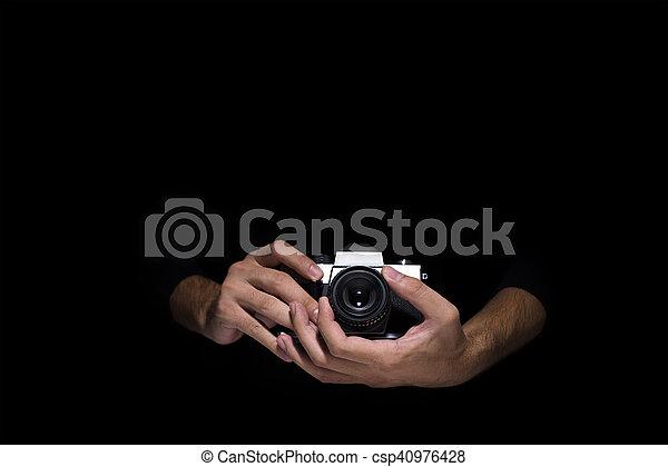 Retro camera - csp40976428