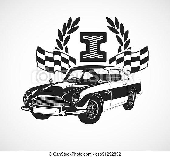 retro car - csp31232852