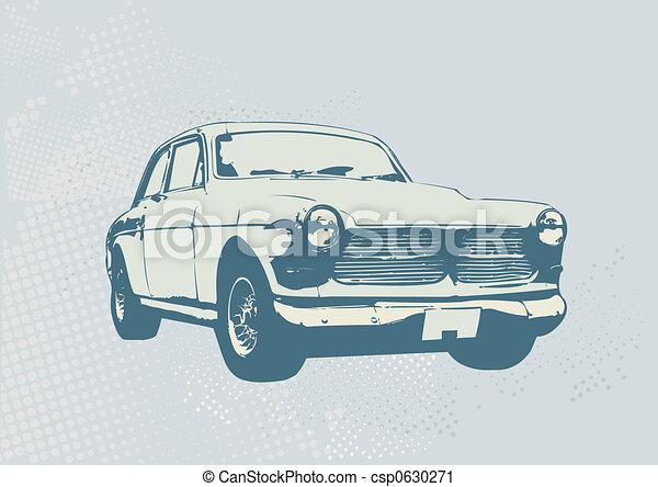 retro car - csp0630271