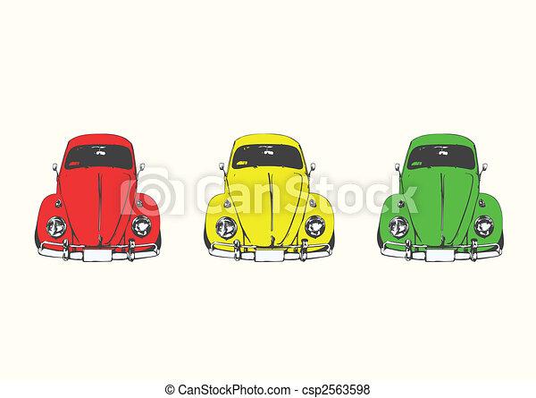 retro car - csp2563598
