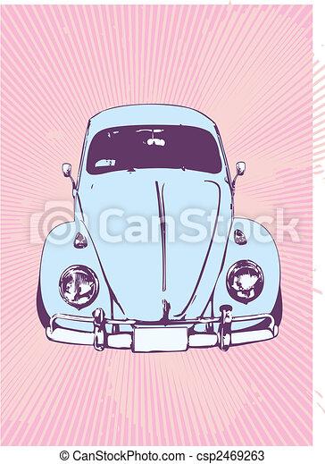 retro car - csp2469263
