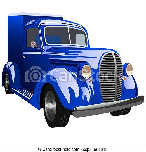 retro car - csp31681815